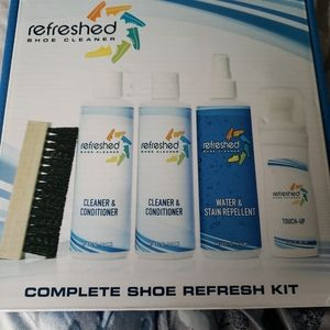 Refreshed Shoe Cleaner Complete Shoe Refresh Kit